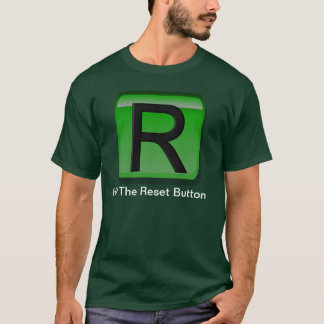 Camiseta Botão de restauração 2011