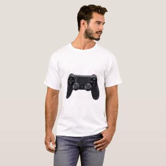 Camiseta Branco do logotipo de Youtube