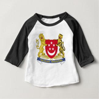 Camiseta Brasão do emblema do 新加坡国徽 de Singapore