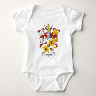 Camiseta Brasão do Hungarian da família de Chillogh