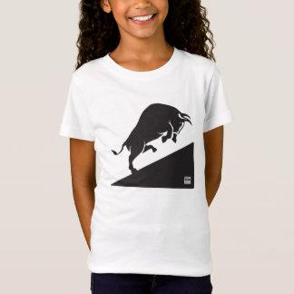 Camiseta Bull acima da engrenagem dos miúdos do QUI