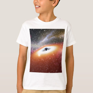 Camiseta Buraco negro maciço de NASAs
