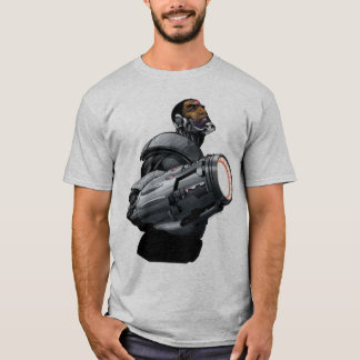 Camiseta Busto do Cyborg & da arma