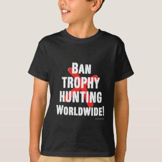 Camiseta Caça do troféu da proibição