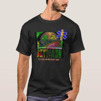 Camiseta Caçador da tempestade de SKYWARN/primeiramente