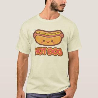 Camiseta Cachorro quente de Kawaii