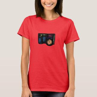 Camiseta Câmera desvanecida
