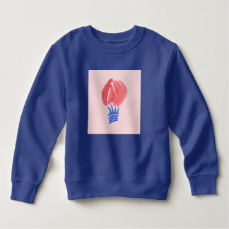 Camiseta Camisola da criança do balão de ar