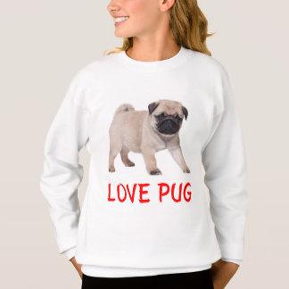 Camiseta Camisola das meninas do cão de filhote de cachorro