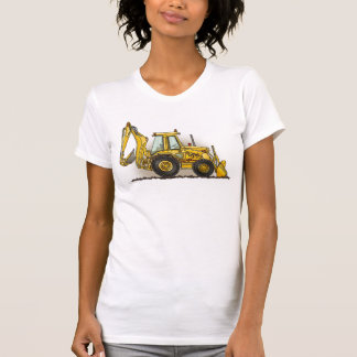 Camiseta Camisola de alças das senhoras do Backhoe