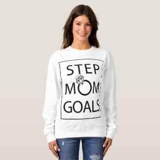 Camiseta Camisola dos objetivos da mamã da etapa