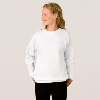 Camiseta Camisola personalizada de Hanes das meninas do XL