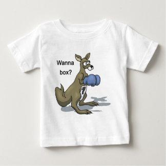 Camiseta Canguru do encaixotamento