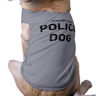 Camiseta CÃO de POLÍCIA não oficial