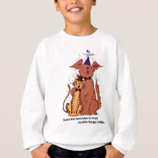 Camiseta Cão e gato Auld do conhecimento
