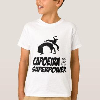 Camiseta capoeira minha superpotência