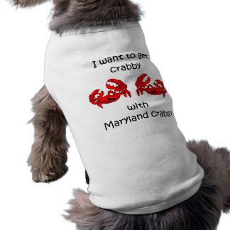 Camiseta Caranguejos de Maryland