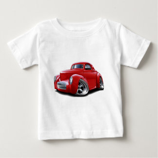 Camiseta Carro 1941 do vermelho de Willys
