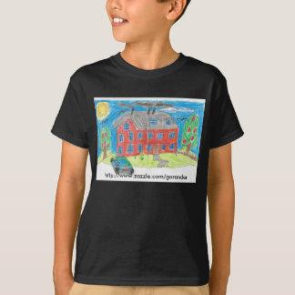 Camiseta Casa e carro