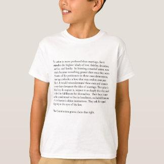 Camiseta Casamento gay de Anthony Kennedy do juiz do