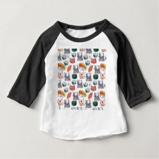 Camiseta cats eating sushi in japan gang