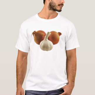 Camiseta Cebolas e alho