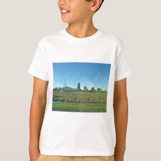 Camiseta central eléctrica atômico abandonado em Eureka