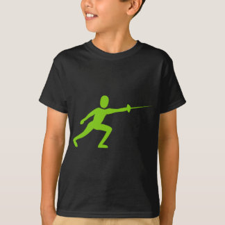 Camiseta Cercando a figura - verde de Marciano