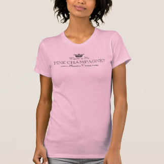 Camiseta CHAMPANHE COR-DE-ROSA www.haute-vixen.com