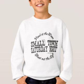 Camiseta Chapéu da cidade pequena sábado à noite