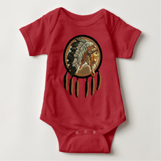 Camiseta Chefe indiano do nativo americano
