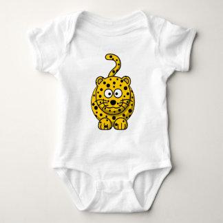 Camiseta Cheio bonito do leopardo