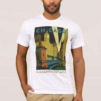 Camiseta Chicago, IL - a milha magnífica