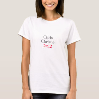 Camiseta Chris Christie 2012