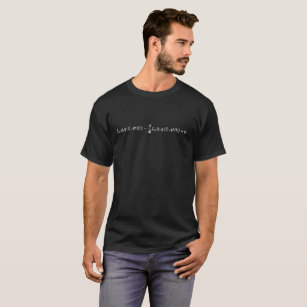 f498bbff75327 Camiseta Ciência da equação de Euler-Lagrange matemática