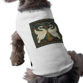 Camiseta Cisne do guindaste de Walter, precipitação e arte