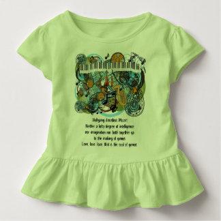 Camiseta Citações inspiradas de Wolfgang Amadeus Mozart