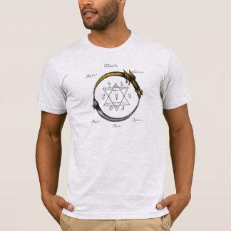Camiseta Cobra e dragão Ouroboros
