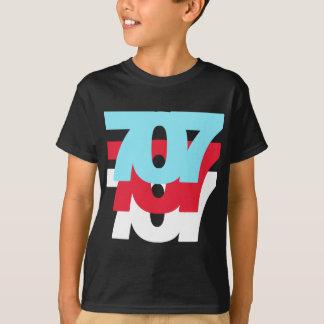 Camiseta Código de área 707