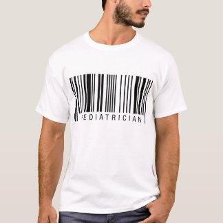 Camiseta Código de barras do pediatra