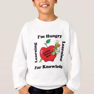 Camiseta Com fome para o conhecimento