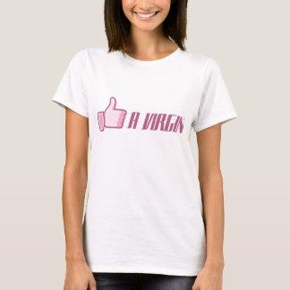 Camiseta Como uma virgem