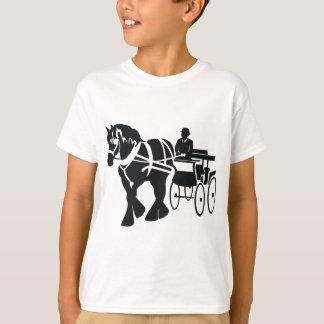 Camiseta Condução do esboço