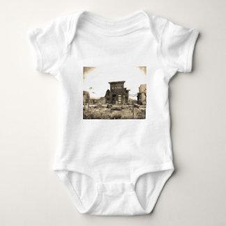 Camiseta Construção de banco do vintage
