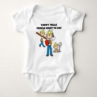 Camiseta Contramestre da construção do pai
