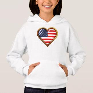 Camiseta Coração americano