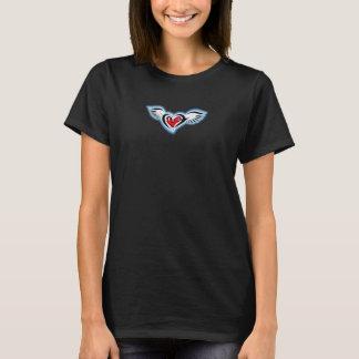 Camiseta Coração do anjo