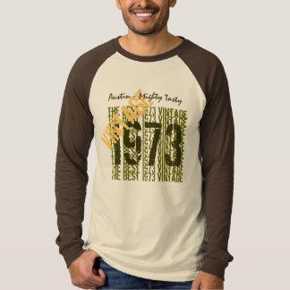Camiseta Costume 1973 do vintage do presente de aniversário
