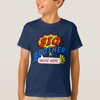 Camiseta Costume do super-herói do big brother