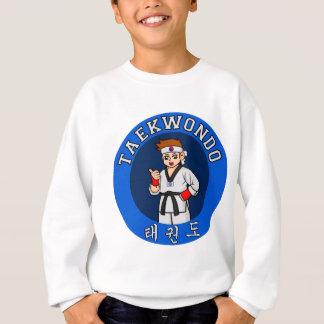 Camiseta crachá da cara de taekwondo
